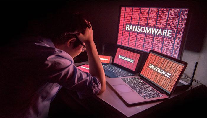بدافزار ransomware
