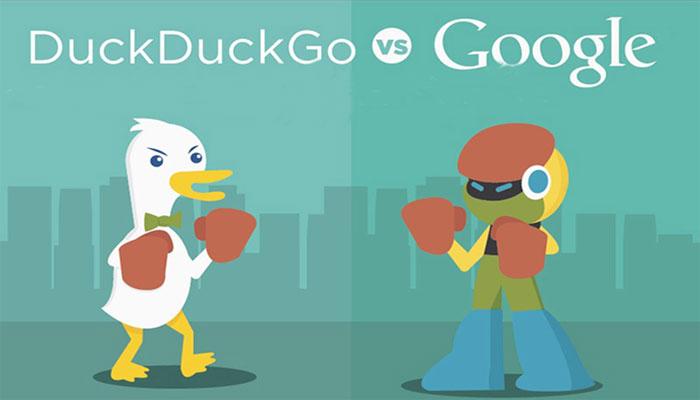 فیلترینک در داکداکگو (DuckDuckGo)