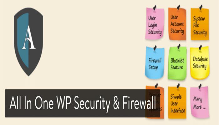 افزونه های امنیتی و All in one WP Security & Firewall