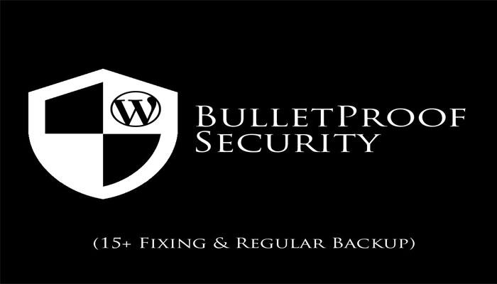 افزونه های امنیتی و BulletProof Security
